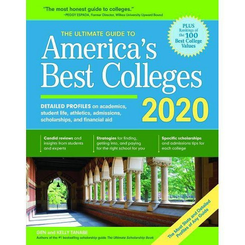 Best Colleges 2020 The Ultimate Guide To America's Best Colleges 2020   9 Edition By