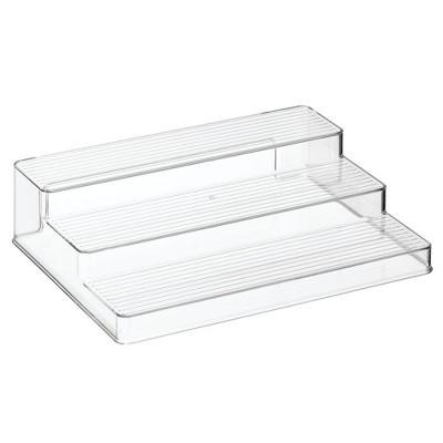 mDesign Plastic Kitchen Spice Rack, Food Storage Organizer