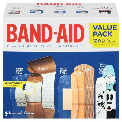BAND-AID Brand Value Pack 120ct