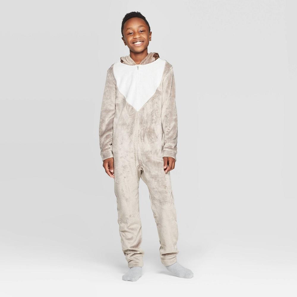 Image of Boys' Frozen Sven Wearable Blanket Sleeper - Brown M, Boy's, Size: Medium