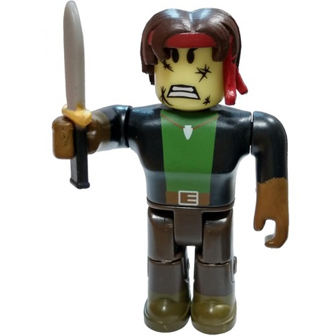 Roblox Series 4 - Roblox Red Series 4 Bombo Mini Figure With Red Cube And Online Code Loose
