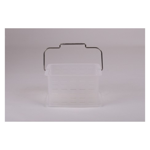 Bath Basket Clear - Room Essentials™ - image 1 of 1