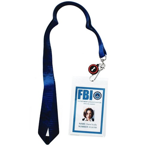 Seven20 The X-Files Dana Scully ID Lanyard with Charm - image 1 of 1