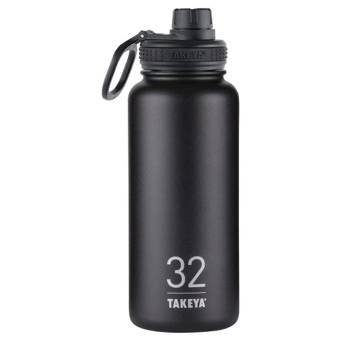 Takeya Originals 32oz Insulated Stainless Steel Water Bottle with Spout Lid - image 1 of 4