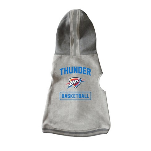 newest 279d0 f624e Oklahoma City Thunder Pet Hooded Crewneck Sweater M