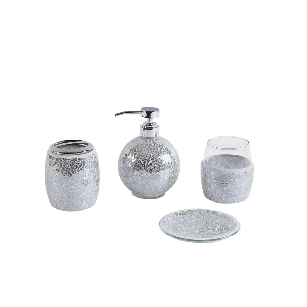 Bath Coordinate Set Silver