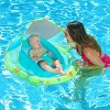 Swimways Infant Baby Spring Float with Canopy - Green - image 2 of 4