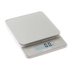 Taylor Digital 11lb Glass Top Food Scale - Silver