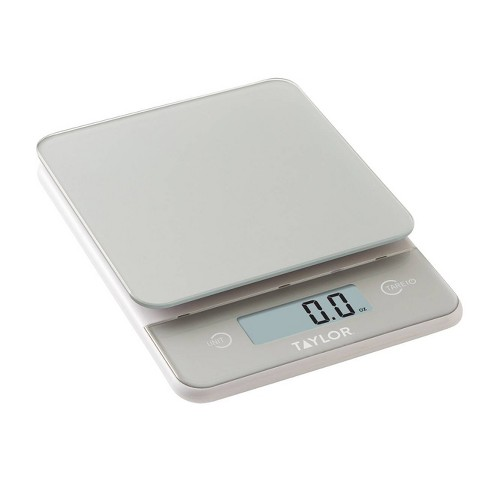 Taylor Digital 11lb Glass Top Food Scale - Silver - image 1 of 4