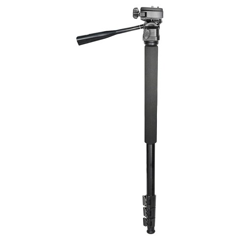 """Bower 72"""" Monopod with Pan & Tilt Head & Quick Release Plate - Black (VM72) - image 1 of 1"""