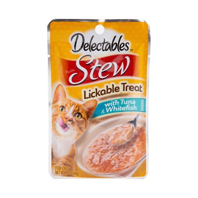 Delectables Stew with Tuna & Whitefish Lickable Cat Treats - 1.4oz