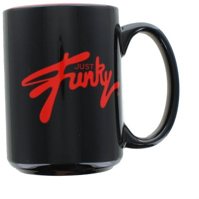 Just Funky Just Funky Logo 16oz Ceramic Coffee Mug