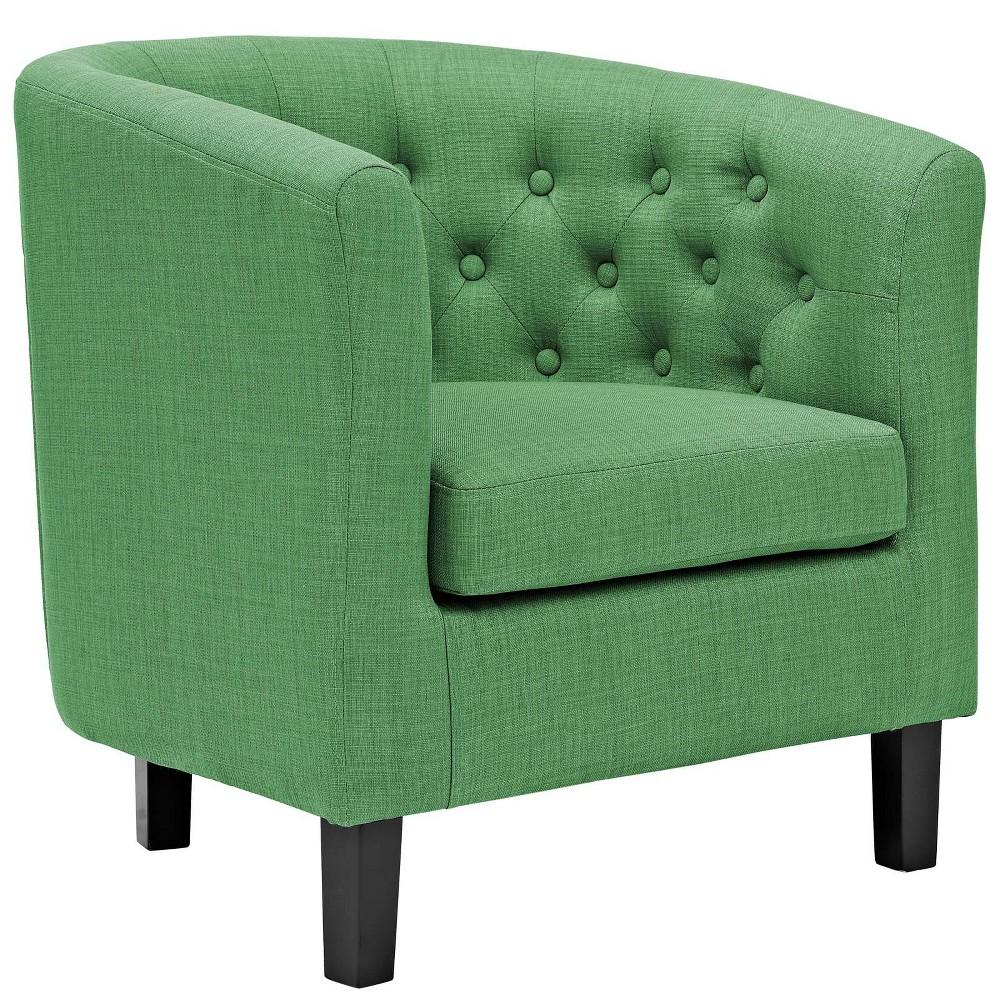 Prospect Upholstered Armchair Kelly Green - Modway
