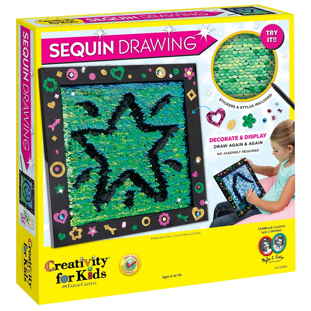 Image of Creativity for Kids Sequin Drawing Kit