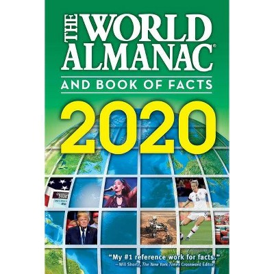 The World Almanac and Book of Facts 2020 - by  Sarah Janssen (Paperback)