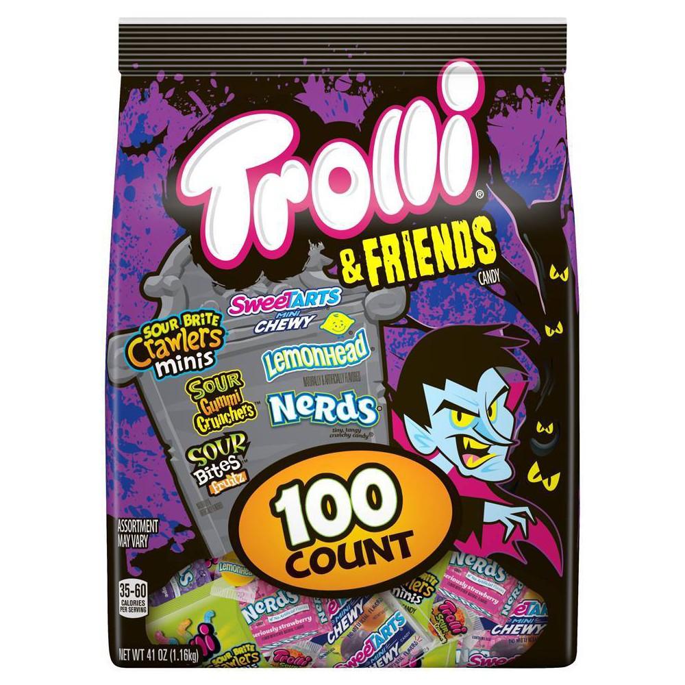Trolli & Friends Halloween Candy Mix - 41oz / 100ct