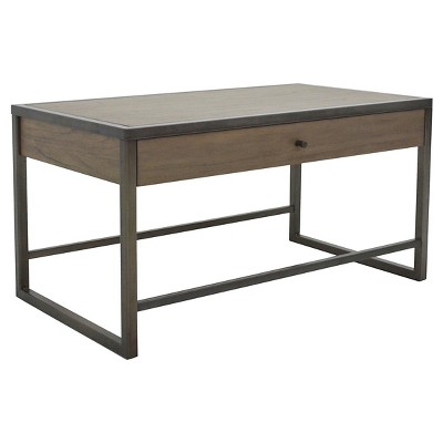 Mason Coffee Table   Pebble Gray And Cocoa Bronze   222 Fifth : Target