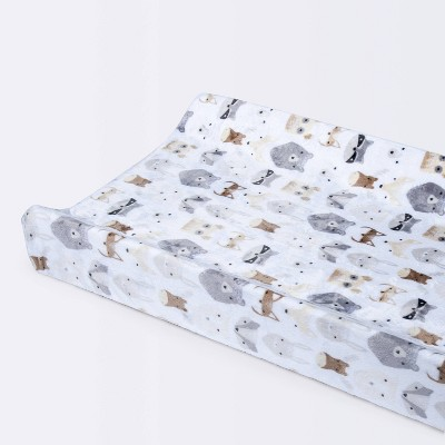 Plush Changing Pad Cover Woodland Animals - Cloud Island™
