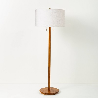 Wood Floor Lamp (Includes LED Light Bulb)- Hearth & Hand™ with Magnolia