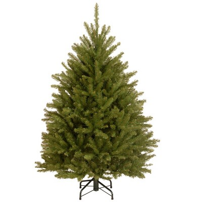 4.5ft National Christmas Tree Company Dunhill Fir Hinged Artificial Christmas Tree