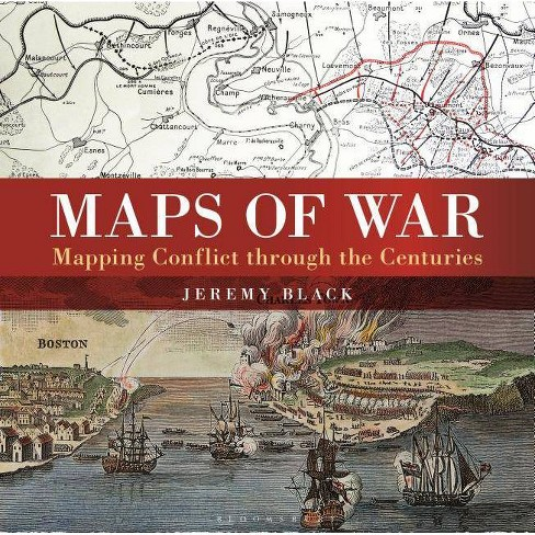 Maps of War - by  Jeremy Black (Hardcover) - image 1 of 1