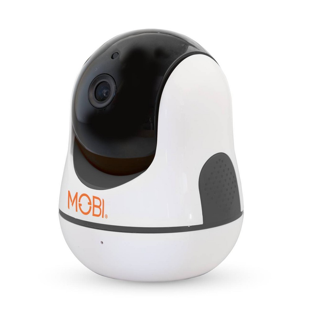 Image of MobiCam HDX Pan & Tilt Smart HD WiFi Video Baby Monitor -Monitoring System - WiFi Camera with 2-way Audio, Beige