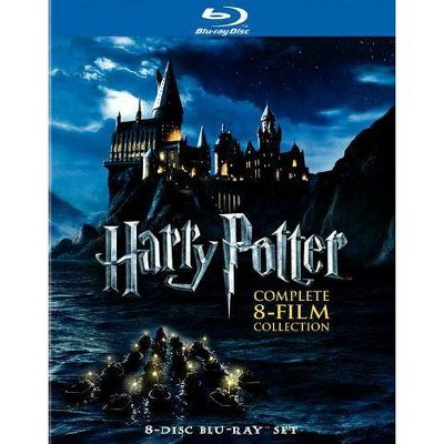 Harry Potter: Complete 8-Film Collection [8 Discs] [Blu-ray]