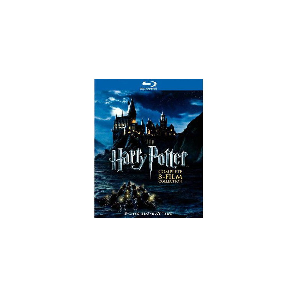 Harry Potter Complete 8 Film Collection Blu Ray