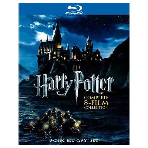 Harry Potter: Complete 8-Film Collection (8 Discs) (Blu-ray) - image 1 of 1