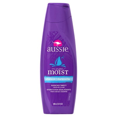 Shampoo & Conditioner: Aussie Mega Moist