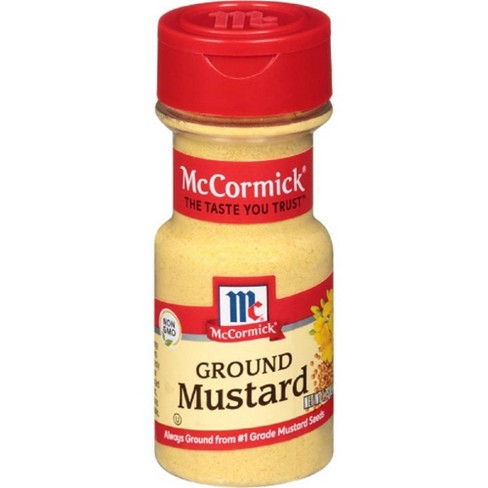 McCormick Ground Mustard - 1.75oz - image 1 of 4