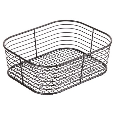Wire Bathroom Vanity Basket (Small)Black - Room Essentials™