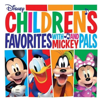 Various Artists - Children's Favorites with Mickey and Pals (LP) (Red) (Vinyl)