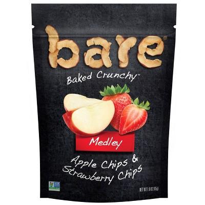 Bare Apple & Strawberry Chips Medley - 1.6oz