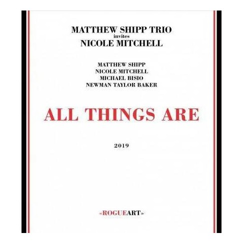 Matthew Shipp - All Things Are (CD) - image 1 of 1