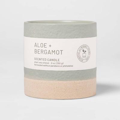 Wellness Ceramic Aloe and Bergamot Candle - Project 62™