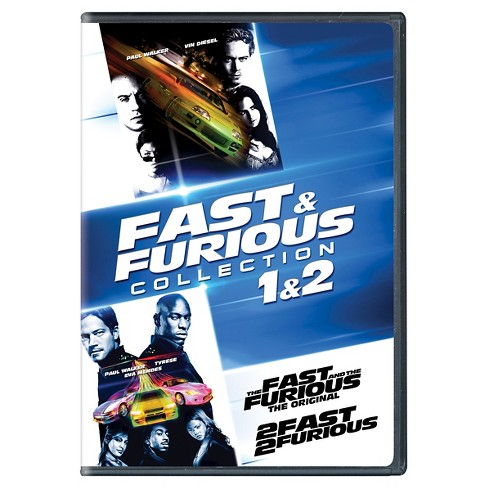 Fast & Furious Collection: 1 & 2 (DVD) - image 1 of 1