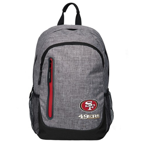 NFL San Francisco 49ers Forever Collectibles - Heather Grey Bold Color Backpack - image 1 of 3