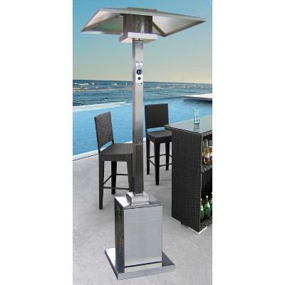 Delightful Stainless Steel Commercial Outdoor Patio Heater : Target