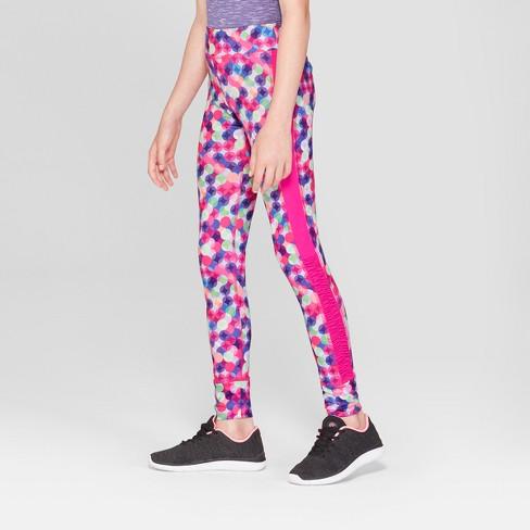 a271f3ba2168 Girls  Novelty Printed Performance Leggings - C9 Champion® Dot Multi ...