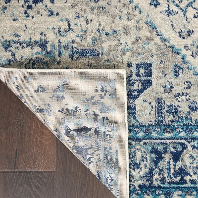 Nourison Tranquil TRA06 Distressed Traditional Area Rug : Target