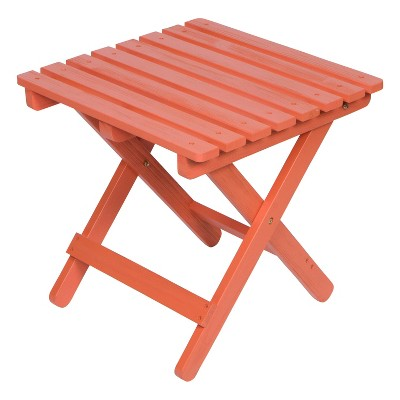 Adirondack Square Folding Table with HYDRO-TEX™ finish - Shine Company Inc.