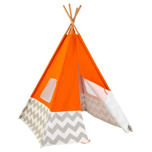 KidKraft Teepee - Orange - image 1 of 4