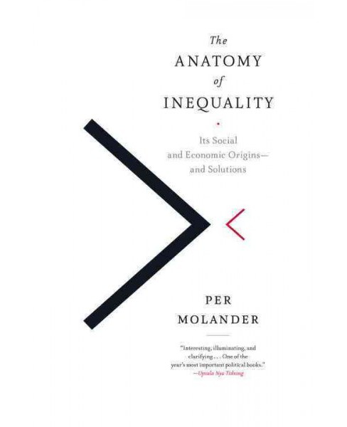 Anatomy of Inequality : Its Social and Economic Origins and Solutions (Hardcover) (Per Molander) - image 1 of 1