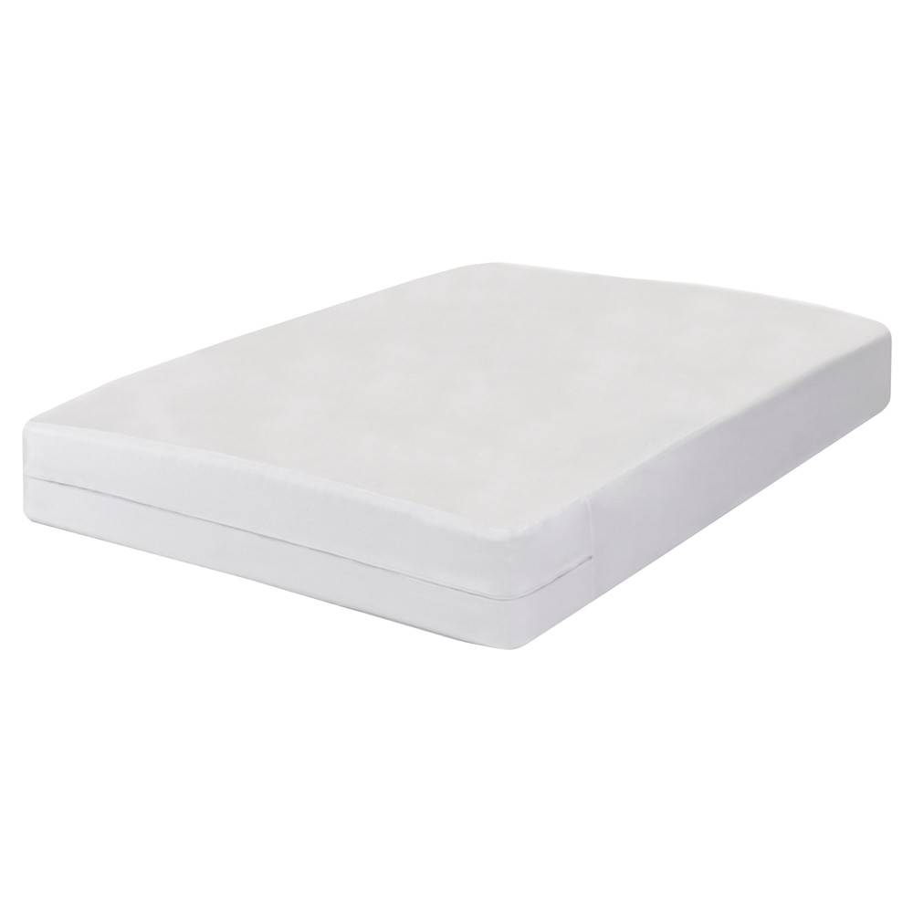 Image of All-in-One Mattress Protector Full (18) White - Fresh Ideas
