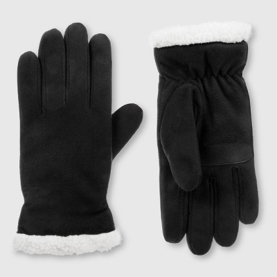 Isotoner Women's SmartDRI Micro Suede Gloves