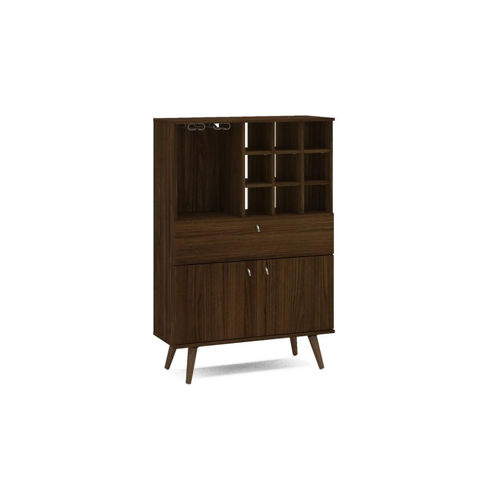 Image of Napa Bar Cabinet Dark Brown - Chique