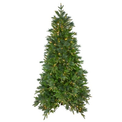 Northlight 6.5' Prelit Artificial Christmas Tree LED Mixed Colorado Pine - Clear Lights