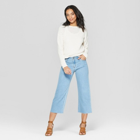 7da4486d297a targetstylenow Sometimes there's just nothing better than a T-shirt and  jeans am I right? Remixing these wide leg denim from target today with the  softest ...