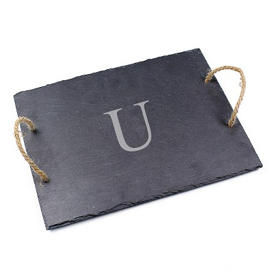 Cathy's Concepts Personalized Slate Serving Board - U